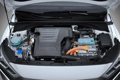 Hyundai IONIQ Plug-in Hybrid Aussenansicht Front statisch Detail Motor