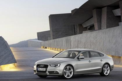 Audi A5 Sportback Aussenansicht Front schräg statisch silber