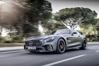 Mercedes-AMG GT C190 Aussenansicht Front schräg
