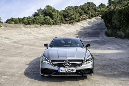 Mercedes-AMG CLS  Shooting Brake X218 Aussenansicht Front statisch silber