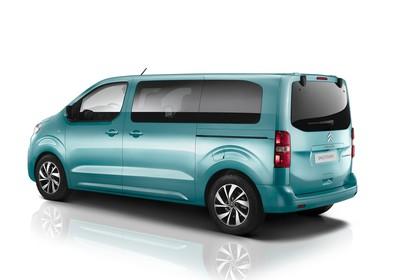 Citroën Spacetourer Aussenansicht Seite schräg statisch Studio blau