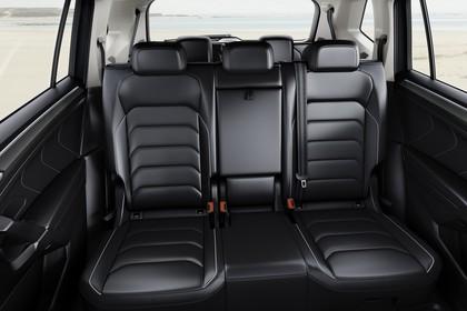VW Tiguan Allspace AD Innenansicht statisch Rücksitze