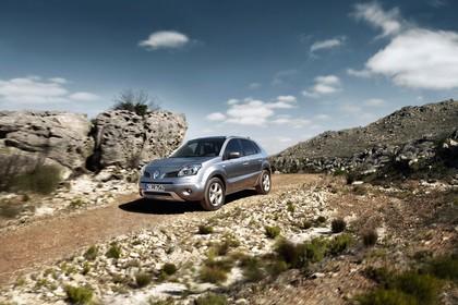 Renault Koleos Y Aussenansicht Front schräg dynamisch silber