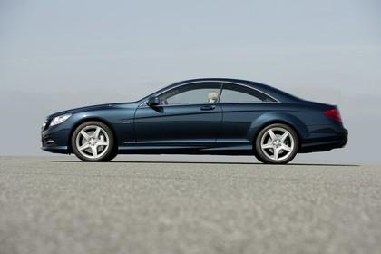 Mercedes CL C216 Aussenansicht Seite statisch blau
