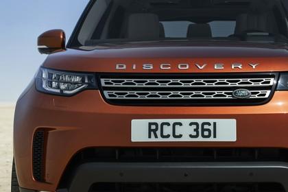 Land Rover Discovery LR Aussenansicht Detail statisch orange