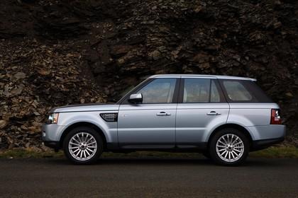 Land Rover Range Rover Sport LS Aussenansicht Seite statisch silber