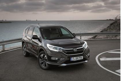 Honda CR-V RE Aussenansicht Front schräg statisch schwarz