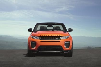 Land Rover Range Rover Evoque Cabrio L538 Aussenansicht Front statisch orange
