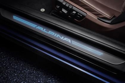 ALPINA B6 BITURBO Coupé F13 Innenansicht statisch Detail Seitenschweller