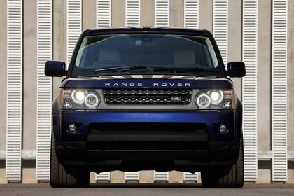 Land Rover Range Rover Sport LS Aussenansicht Front statisch blau