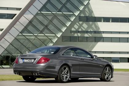 Mercedes CL C216 Aussenansicht Heck schräg statisch grau