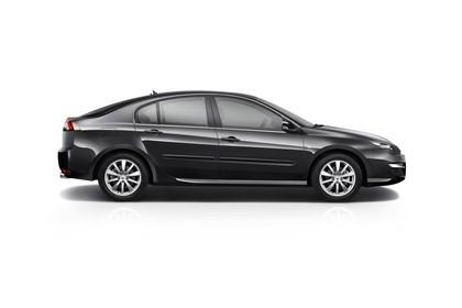 Renault Laguna Limousine T Facelift Aussenansicht Seite statisch Studio schwarz