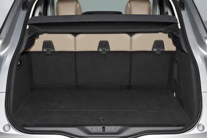 Citroën C4 Picasso 2 Aussenansicht Heck statisch Studio silber Heckklappe geöffnet