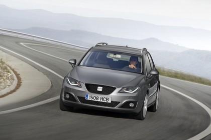 SEAT Exeo ST 3R Facelift Aussenansicht Front schräg dynamisch grau