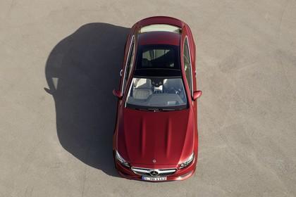 Mercedes E-Klasse Coupé C238 Aussenansicht statisch rot