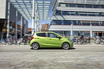 Opel Karl Aussenansicht Seite statisch grün