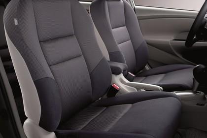 Honda Insight Studio Innenansicht Vordersitze statisch grau
