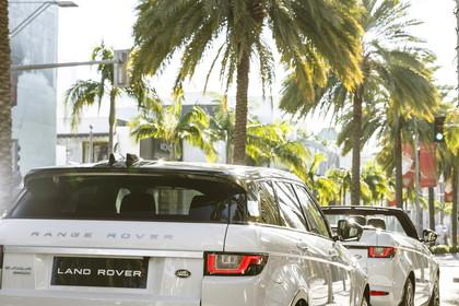 Range Rover Evoque L538 Aussenansicht Heck statisch weiss