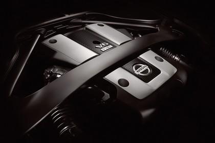 Nissan 370Z Z34 Innenansicht Detail Motor