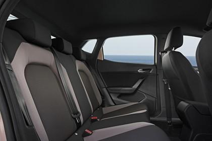 SEAT Ibiza Innenansicht statisch Rücksitze beifahrerseitig