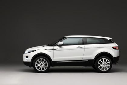Range Rover Evoque L538 Aussenansicht Seite Studio statisch weiss