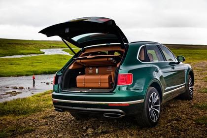 Bentley Bentayga Falconry by Mulliner Innenansicht statisch Kofferraum