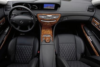 Mercedes CL C216 Innenansicht Front statisch schwarz