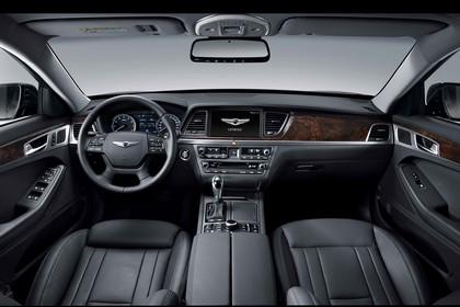 Hyundai Genesis DH Innenansicht  statisch schwarz