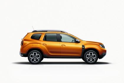 Dacia Duster SR Aussenansicht Seite statsch Studio orange
