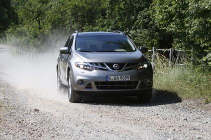 Nissan Murano Z51 Aussenansicht Front dynamisch grau