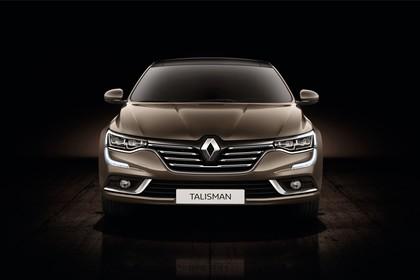 Renault Talisman RFD Aussenansicht Front statisch Studio braun