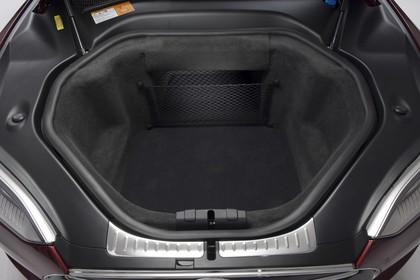 Tesla Model S Innenansicht vorderer Gepäckraum