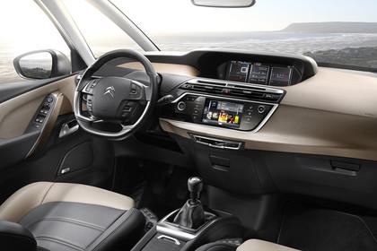 Citroën C4 Picasso 2 Innenansicht statisch Vordersitze und Armaturenbrett beifahrerseitig