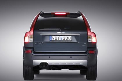 Volvo XC90 Aussenansicht Heck statisch petrol