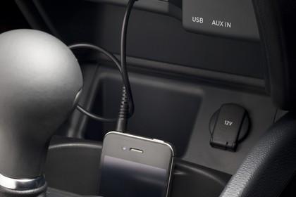 SEAT Ibiza ST 6P Innenansicht Mittelkonsole mit USB und  AUX Anschluss