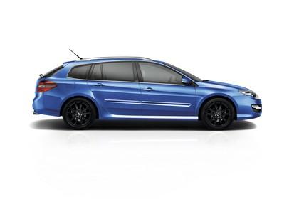 Renault Laguna Grandtour T Facelift Aussenansicht Seite statisch Studio blau