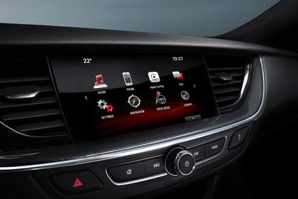 Opel Insignia B Grand Sport Innenansicht Detail Multimedia Studio statisch schwarz