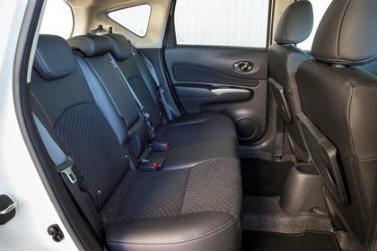 Nissan Note E12 Innensicht statisch Rücksitze