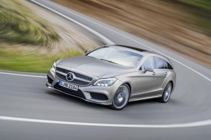 Mercedes-Benz CLS Shooting Brake X218 Aussenansicht Front dynamisch silber