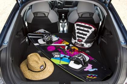 Honda CR-Z Innenansicht statisch Studio Detail Kofferraum