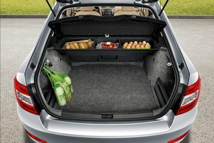 Skoda Octavia 5E Limousine Innenansicht Kofferraum