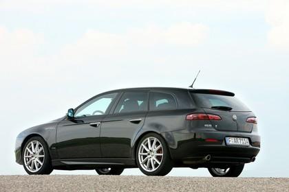 Alfa Romeo 159 Sportswagon Typ 939 Aussenansicht Seite schräg statisch schwarz