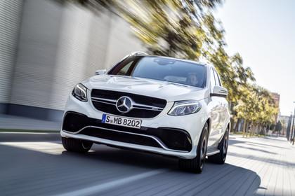 Mercedes-AMG GLE W166 Aussenansciht Front dynamisch weiss