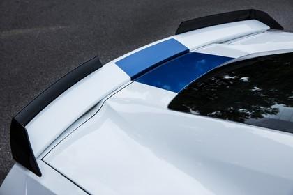 Chevrolet Corvette Grand Sport Cabrio Aussenansicht Seite schräg statisch Detail Heckspoiler