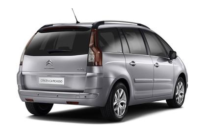 Citroën C4 Grand Picasso U Aussenansicht Heck schräg statisch Studio silber