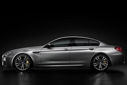 BMW M6 Gran Coupé F06 Aussenansicht Seite statisch Studio grau