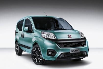 Fiat Qubo 225 Aussenansicht Front schräg statisch blau