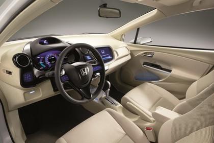Honda Insight Studio Innenansicht Front statisch beige