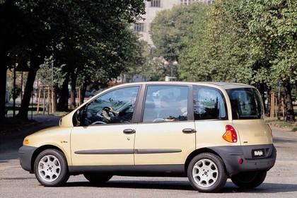 Fiat Multipla 186 Aussenansicht Seite schräg statisch gelb