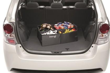 Toyota Verso (ARA2) Aussenansicht Kofferaum geöffnet grau